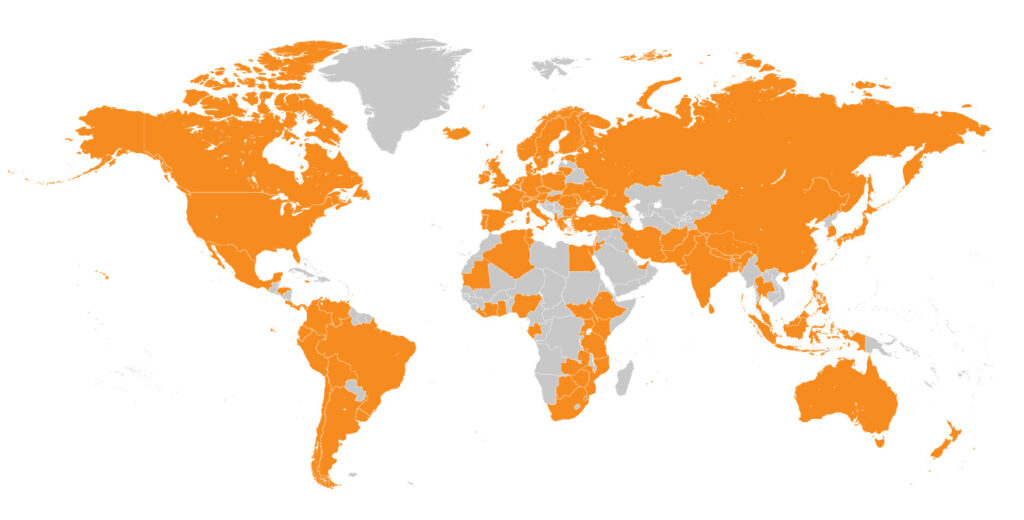 People from 106 countries and territories have signed the OneShared.World Pledge of Interdependence
